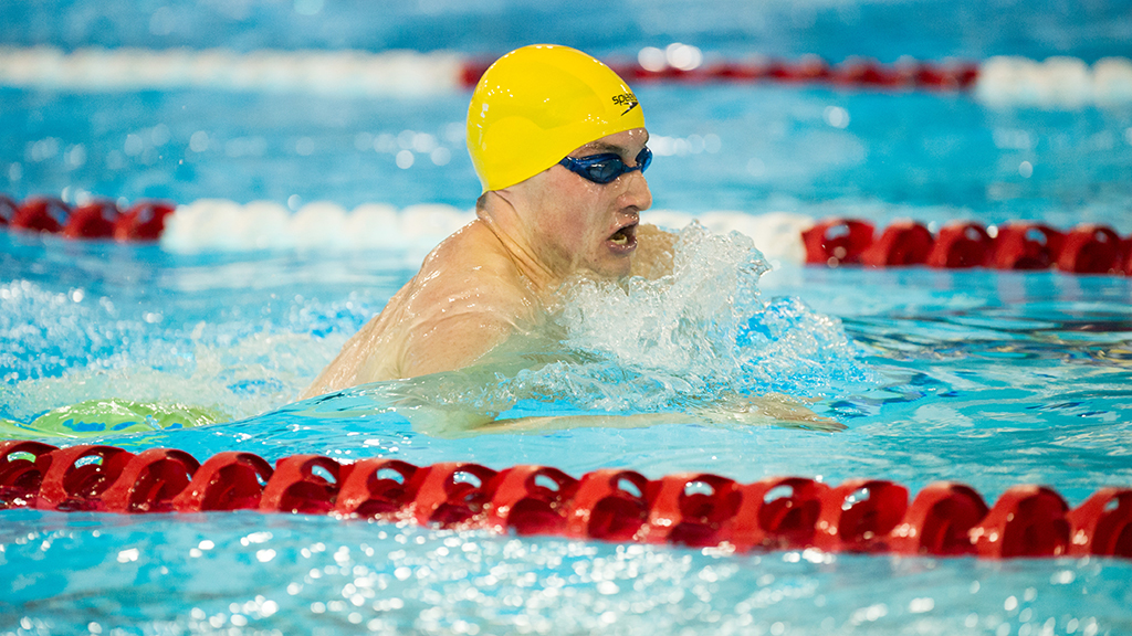 Alberta 39 s swim team captures first gold at nationals since - University of alberta swimming pool ...