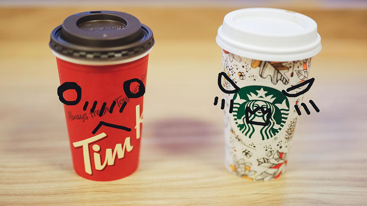 starbucks vs tim hortons Caffeine content in espresso and starbucks vs tim hortons comparison.