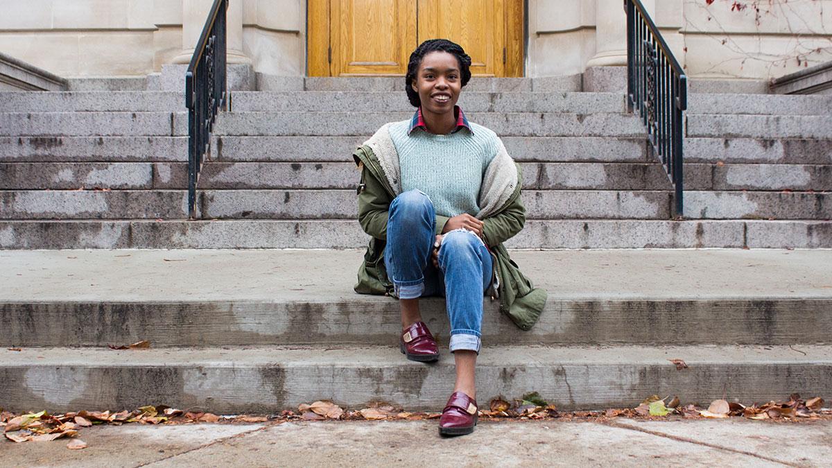 Fashion Streeters: Merlin Uwalaka