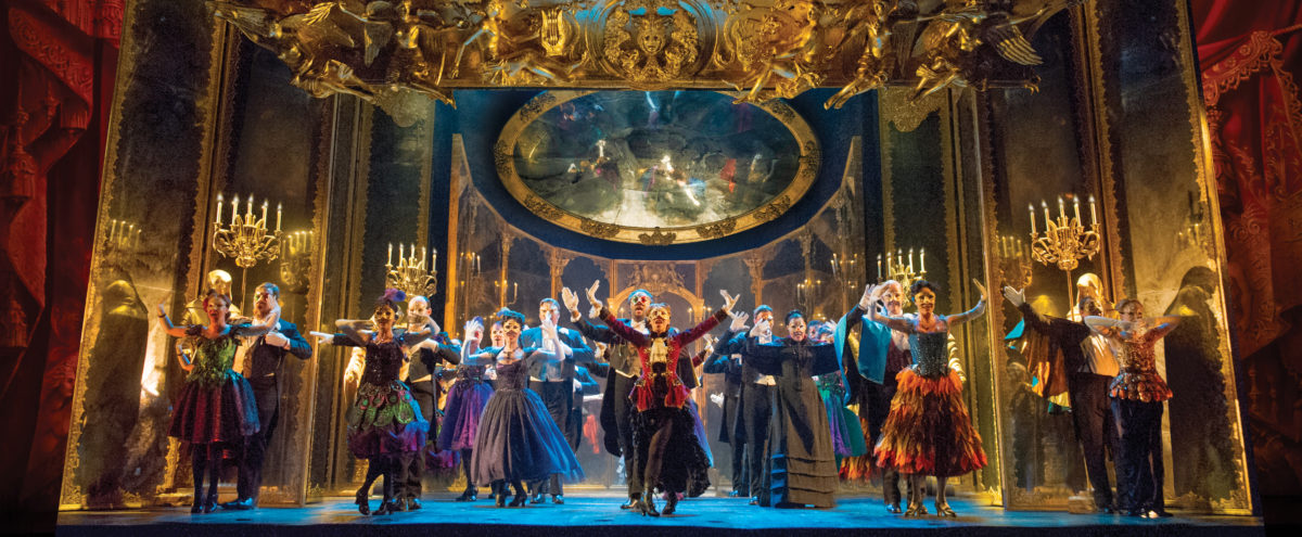 Phantom of the Opera plays at the Jubilee