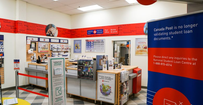 Post office in SUBmart to close in April - The Gateway